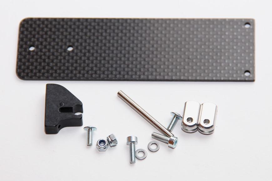 Henseleit TDF - Ritzelwelleneinheit und Motor: Reglerhalteplatte