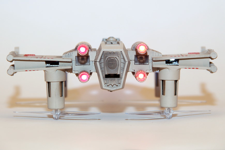 Propel Star Wars T-65 X-Wing Battle Drone / Quadrocopter: Heckansicht