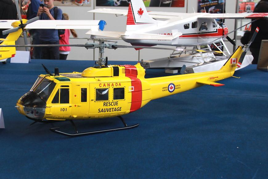 Faszination Modellbau 2016 Friedrichshafen: Scale Helikopter