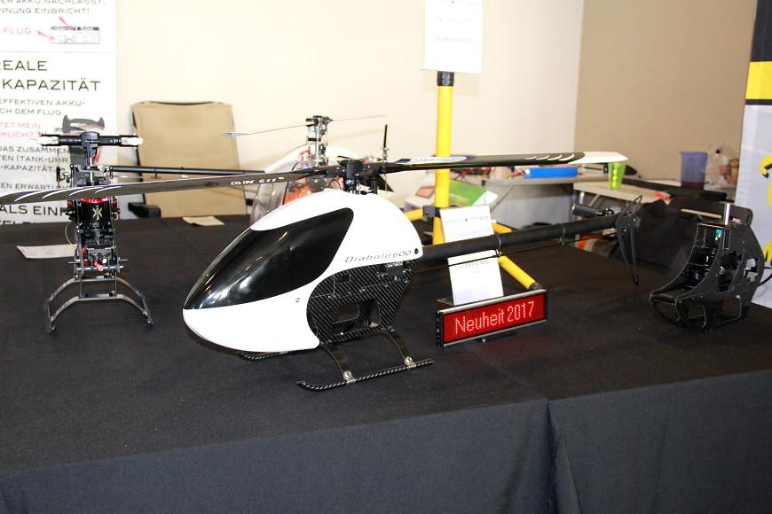 ROTOR live 2017: Minicopter Diabolo 600